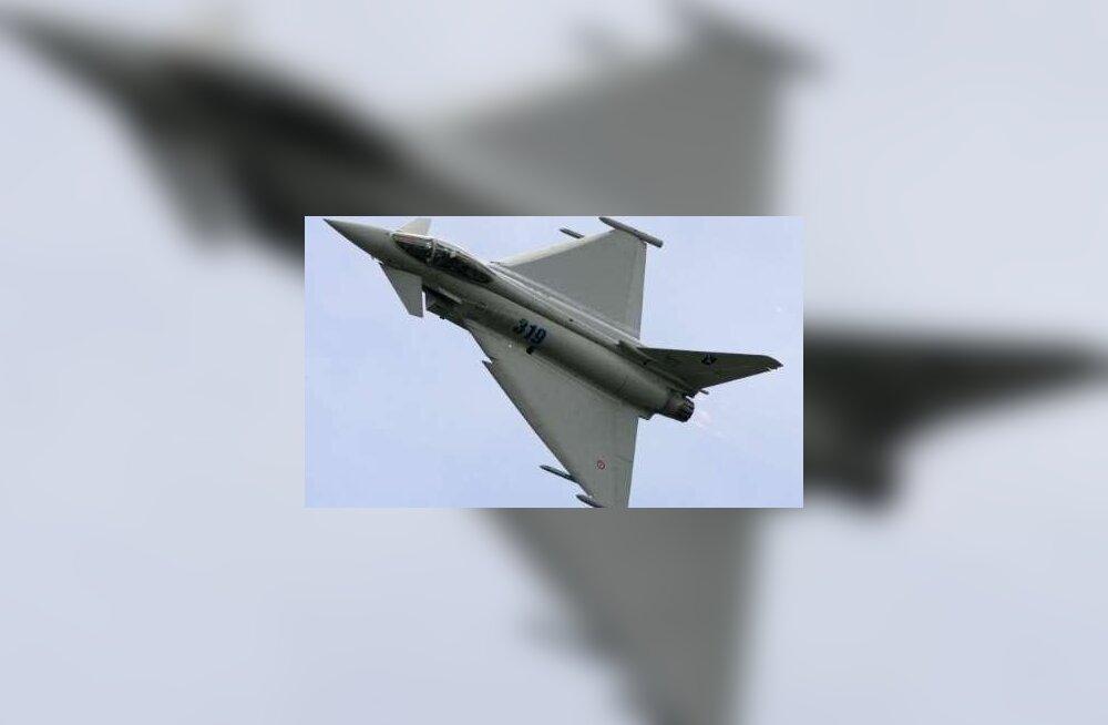 Saksa õhuvägi kihutas Vene sõjalennukid Eesti lähistelt minema