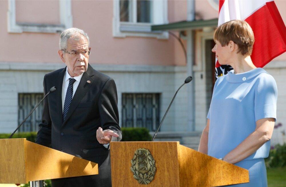 Austria president Alexander Van der Bellen lubas, et riik ei plaani Vene küsimuses Euroopa Liidu ühtsust lõhkuda.
