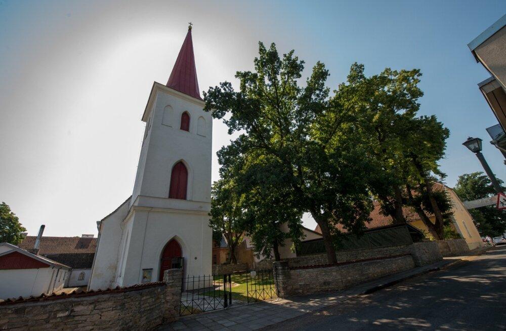 Varro Vooglaid Haapsalu kirikus