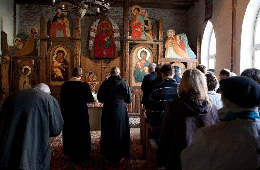 Tsernobõli mälestusteenistus Ukraina kirikus