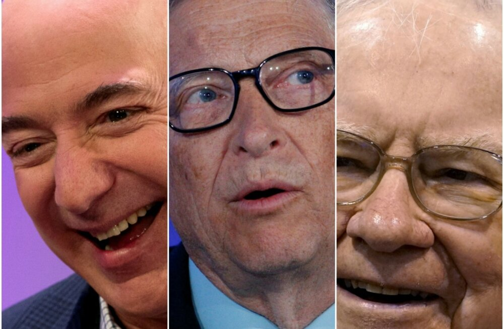 Jeff Bezos, Bill Gates, Warren Buffett