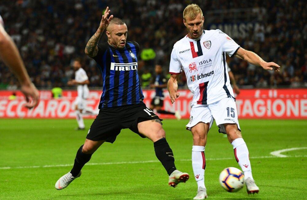 Statistiline analüüs ennustab, et Klavan ja Cagliari kukuvad Serie A-st välja