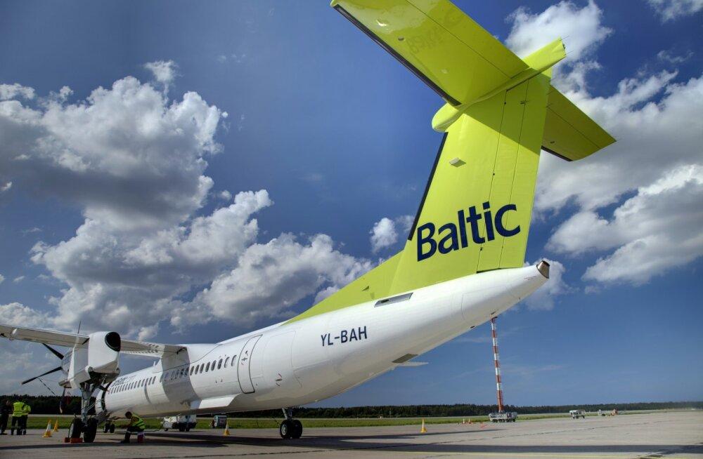 Lätlased avasid esimese siseriikliku lennuliini