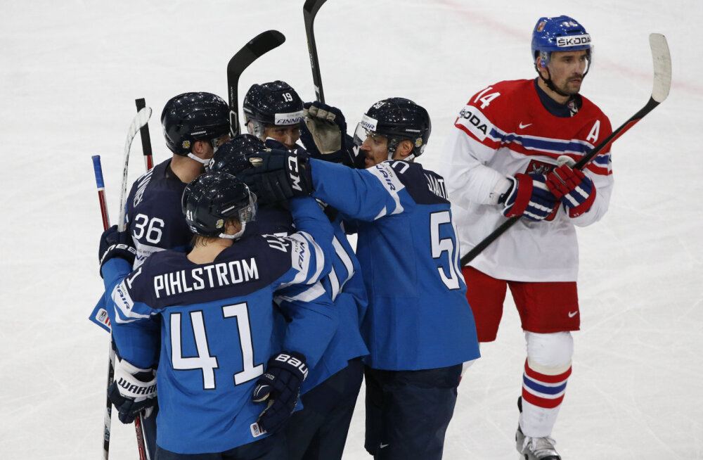 Soome jäähokimängijad