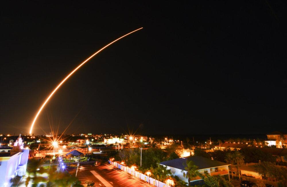 SpaceXi suur samm: täna öösel saadetakse kosmoselendude ajaloos esmakordselt üles korduvkasutatav kanderakett