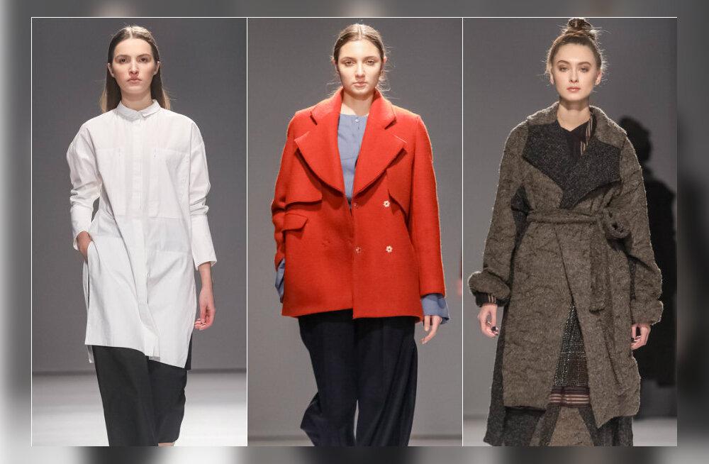 FOTOD! Kargest minimalismist julge fantaasialennuni: Eesti disainerid näitasid Kiievi moenädalal isikupäraseid kollektsioone