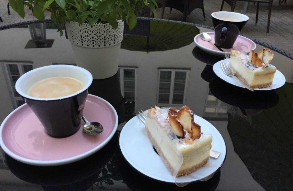 Koogilaud Tartu Werneri kohvikus