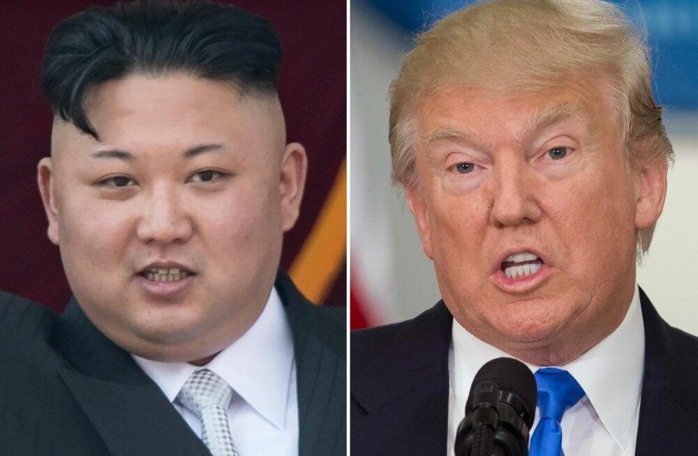 Kim ja Trump