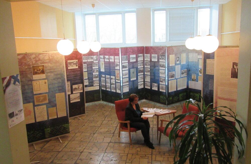 FOTO   Akadeemilises raamatukogus avati näitus Soome jäägritest Lätis