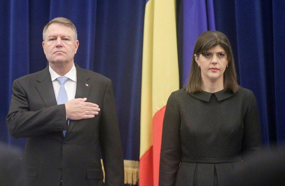 Rumeenia president allkirjastas dekreedi korruptsioonivastase võitluse juhi tagandamise kohta