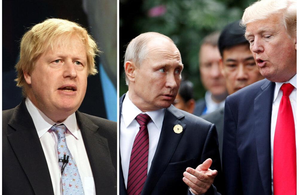 Toomas Alatalu: Boris Johnsoni tagasiastumine vajutab pitseri ka Trumpi ja Putini kohtumisele. Võimalik, et Johnsonist võiks ühel päeval saada Suurbritannia peaminister