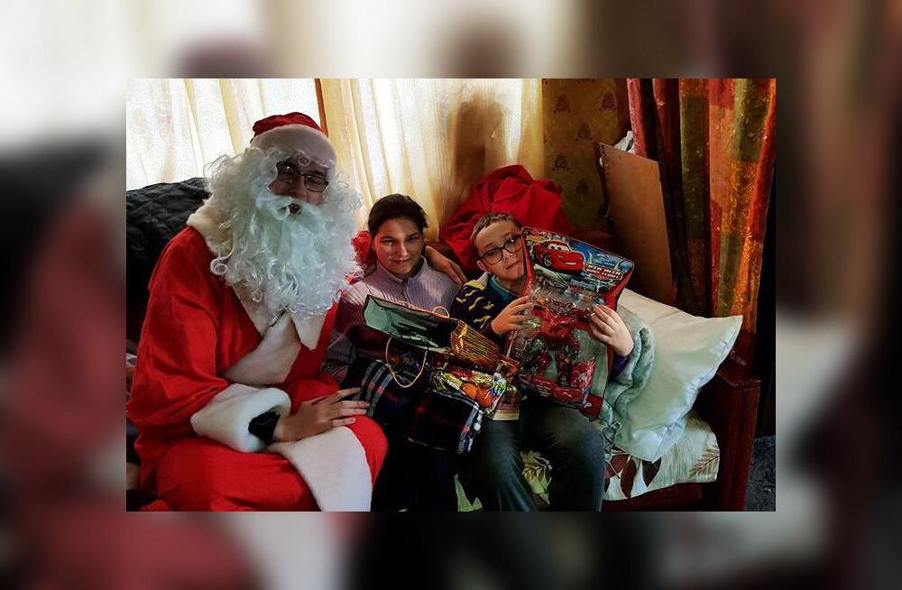 Две семьи получили подарки от неравнодушных жителей Кохтла-Ярве
