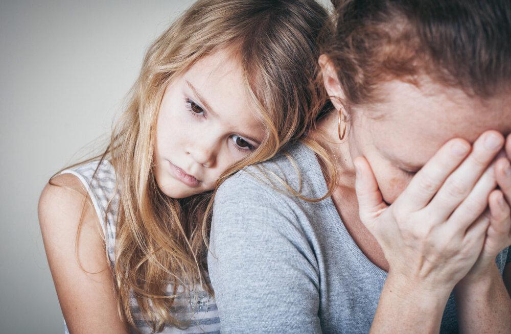Ema sisemine olek on see, mis laste käitumises peegeldub