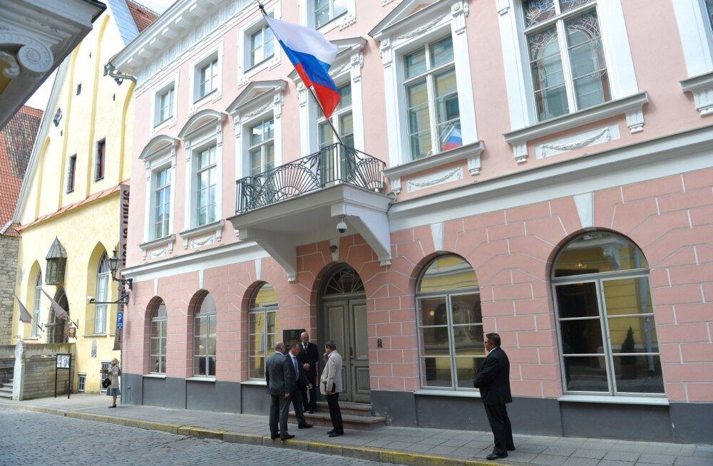 Vastuvõtt Vene saatkonnas