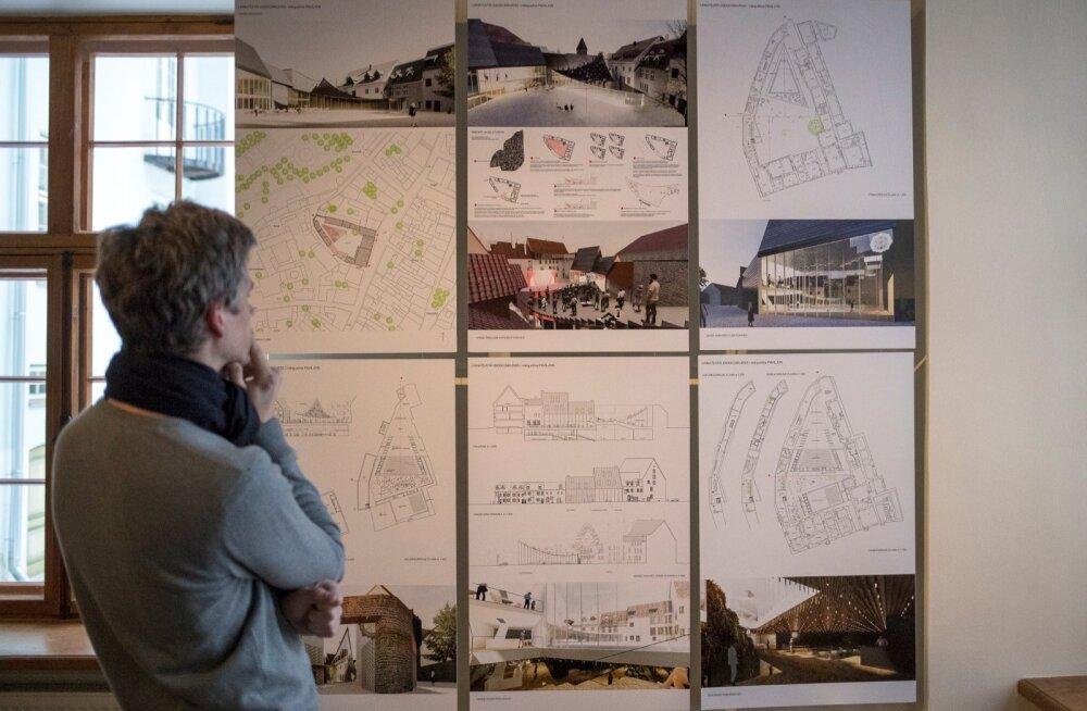 Linnateatri uue maja ja sisehoovi arhitektuurikonkursi võidutöö tegi Salto AB, kes aga kaasas töösse teise koha omanikud, nüüd korruptsioonipuntrasse sattunud KOKO arhitektid.