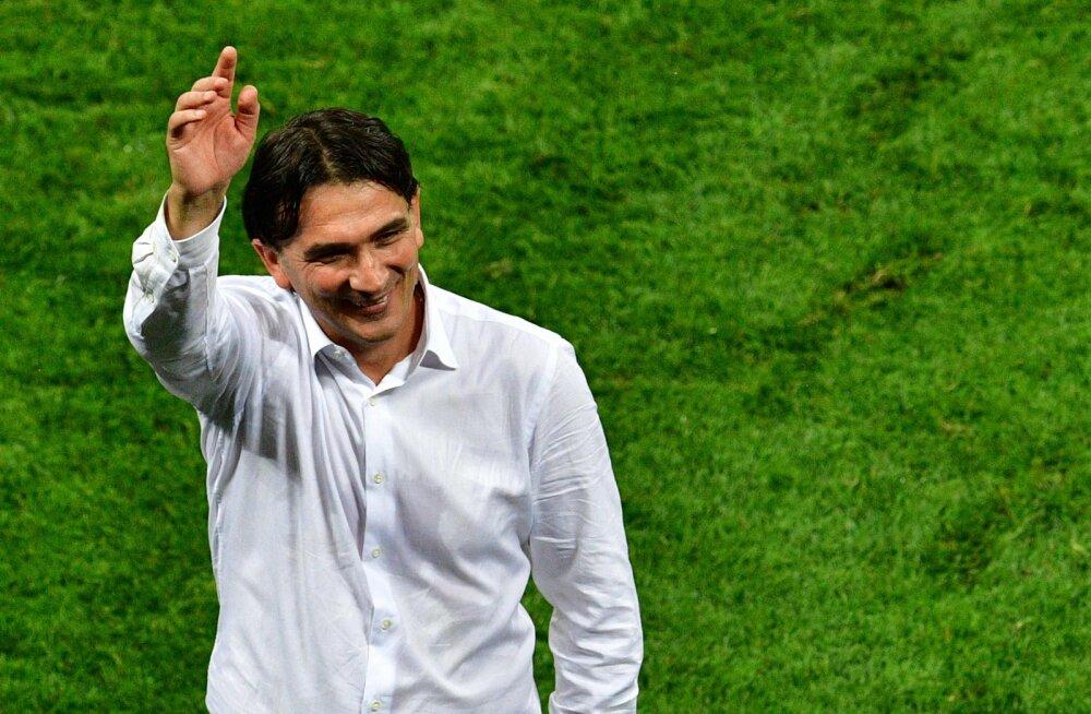 Horvaatia peatreener avaldas, miks ta esimese vahetuse alles lisaajal tegi