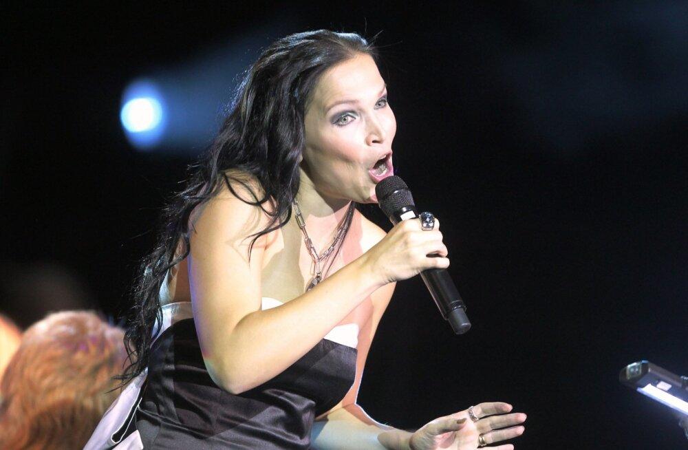 Tartu rokikontserdi peamine publikumagnet pidi olema Soome staar Tarja Turunen.
