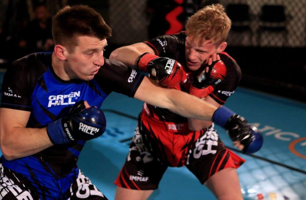 Eesti MMA-võitleja võitles end Euroopa meistrivõistlustel hõbedale