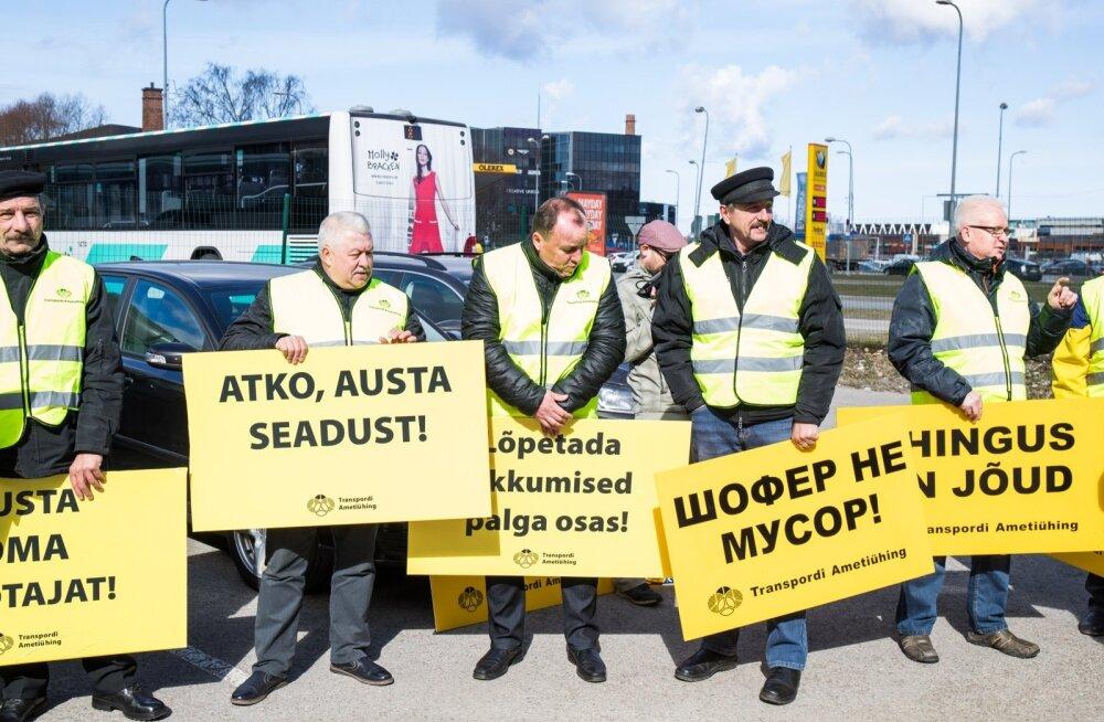 ATKO Grupi bussijuhtide pikett