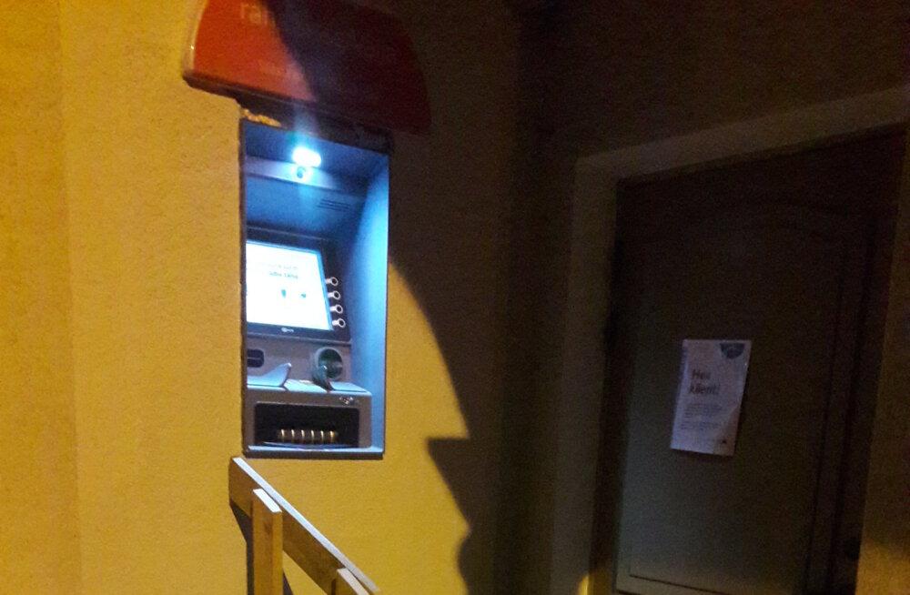 LUGEJA FOTO   Räpina rahaautomaadi probleem on lahenduse leidnud!