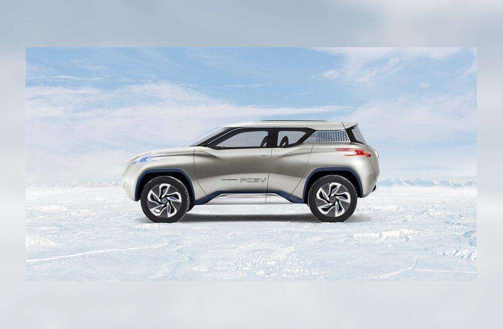 Nissan Leaf saab moodsa küljeluu: arenduses on e-krossover Terra