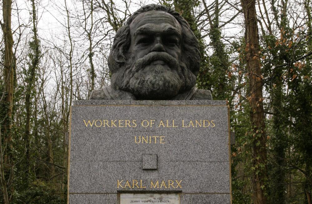 Karl Marxile ei anta surnuaial ka rahu
