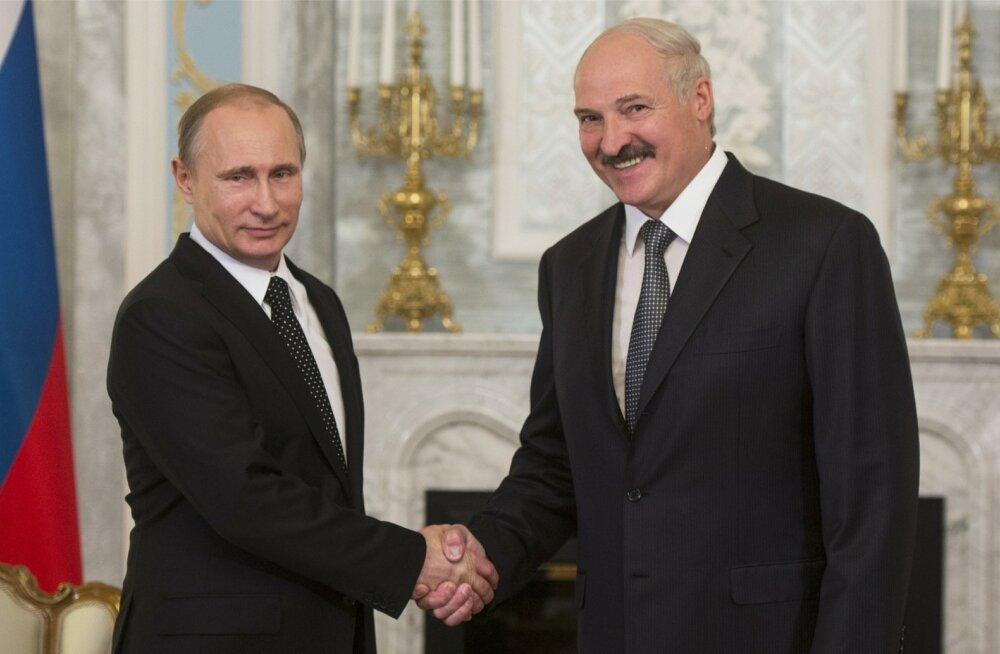 Vladimir Putin, Aljaksandr Lukašenka