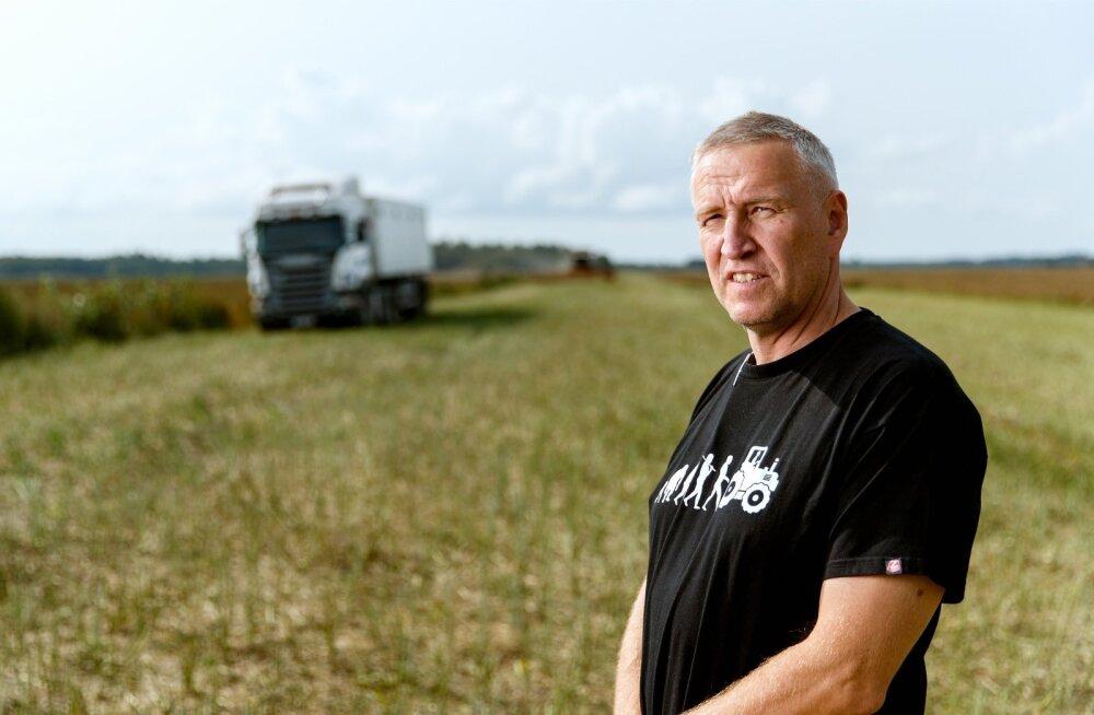 Harjumaa põllumehe Andres Oopkaupi sõnul ei aita riigi pakutud laen edasi, vaid lihtsalt pikendab põllumeeste agooniat.