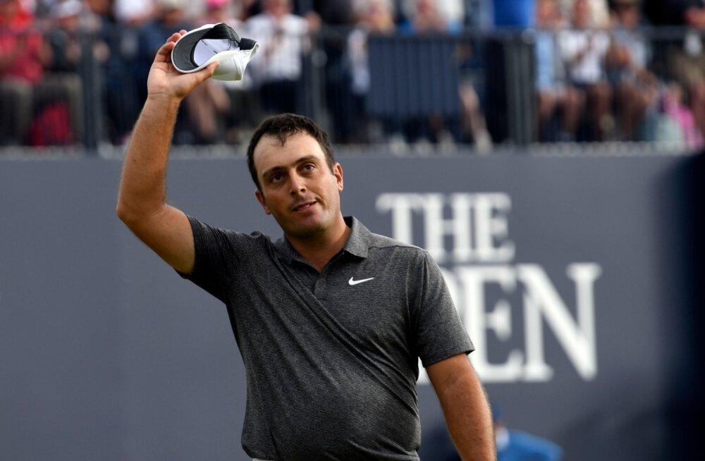 Francesco Molinari - uus nimi golfi suurturniiride võitjate reas.