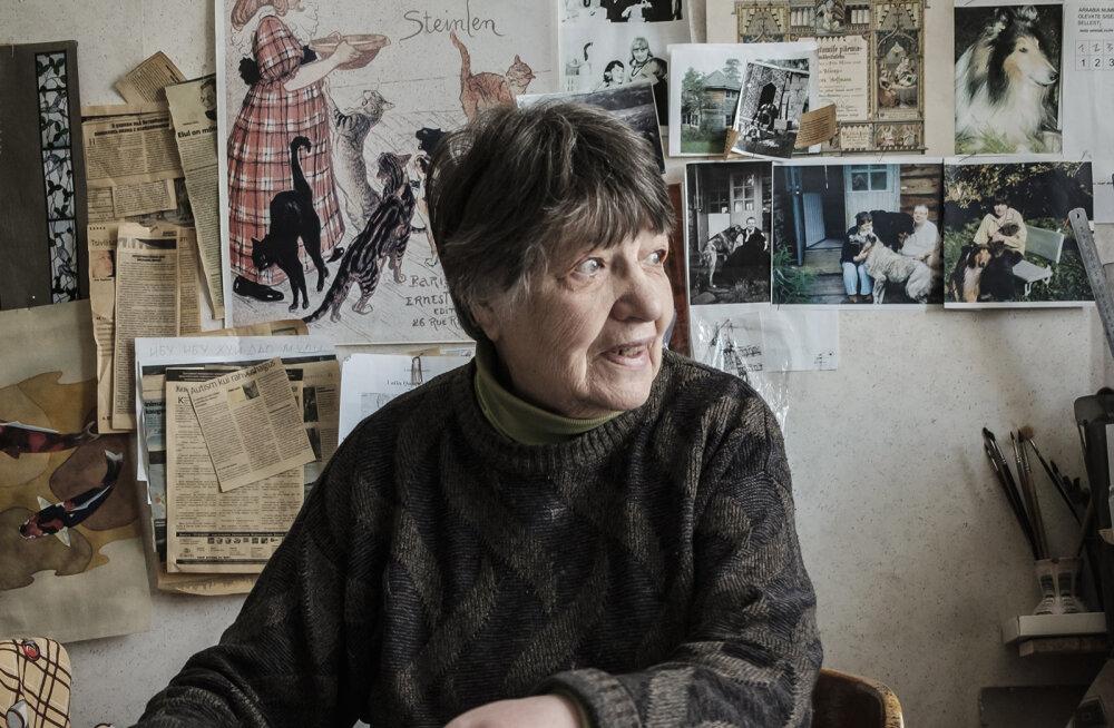 Vitraažikunstnik Dolores Hoffmann: kui ma enam igal pool ei käi, siis pigem haige selja, mitte ükskõiksuse pärast