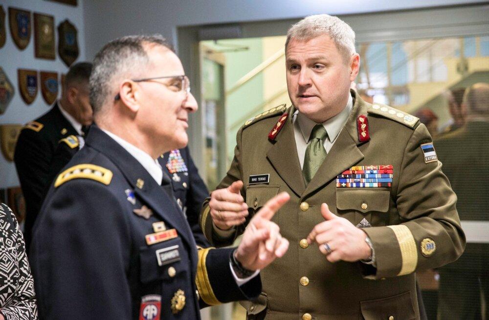 Kindral Curtis Scaparotti visiit Eestisse
