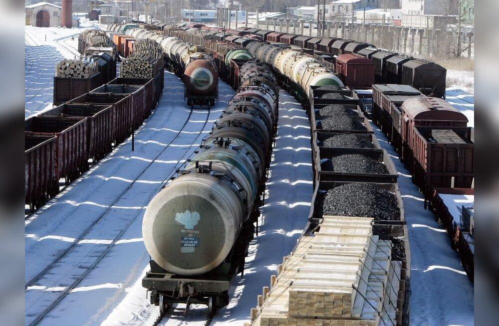 Venemaa vähendab taas raudteetransiiti läbi Eesti