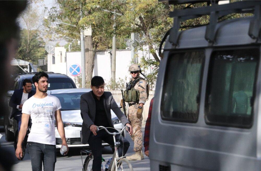 Kuigi Eesti sõdurite töö Afganistanis on küllalt rahulik, on olukord Kabulis ja mujal riigis läinud järjest halvemaks.