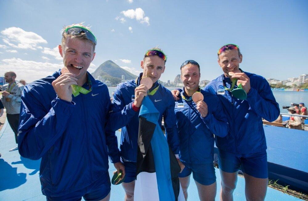 Eesti neljapaat võitis pronksi