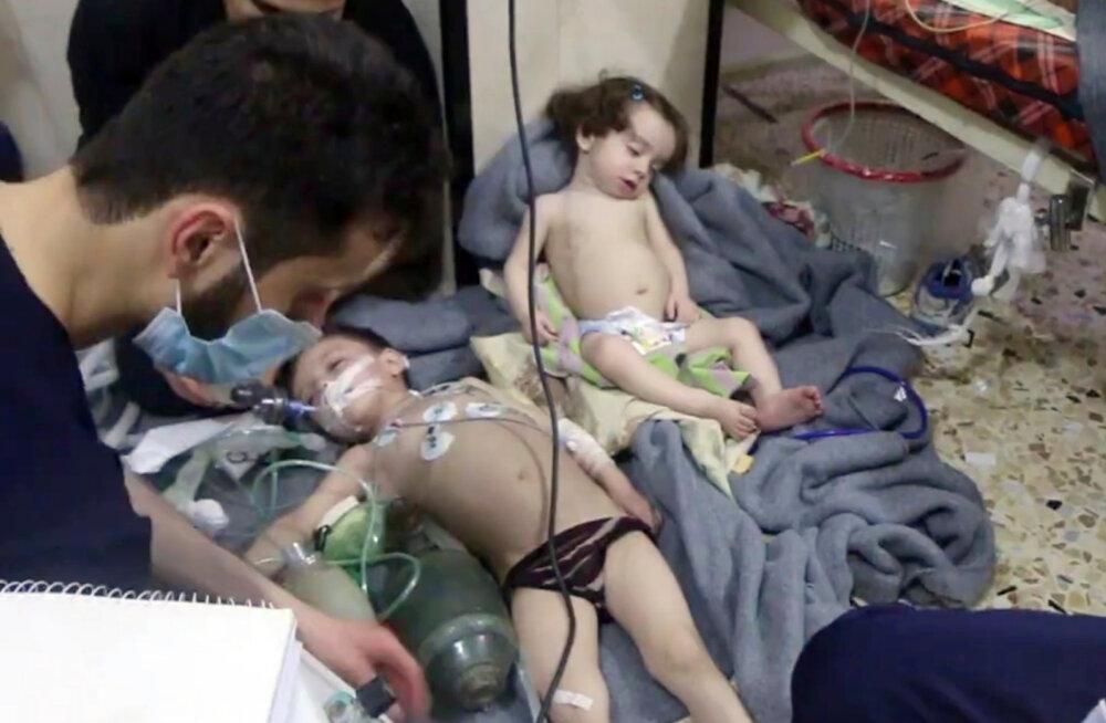 Химическая атака в Сирии: что нам известно