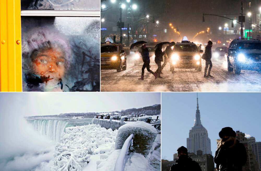 Ameerika suurlinnu kimbutab uusaastaööl rekordiline külm
