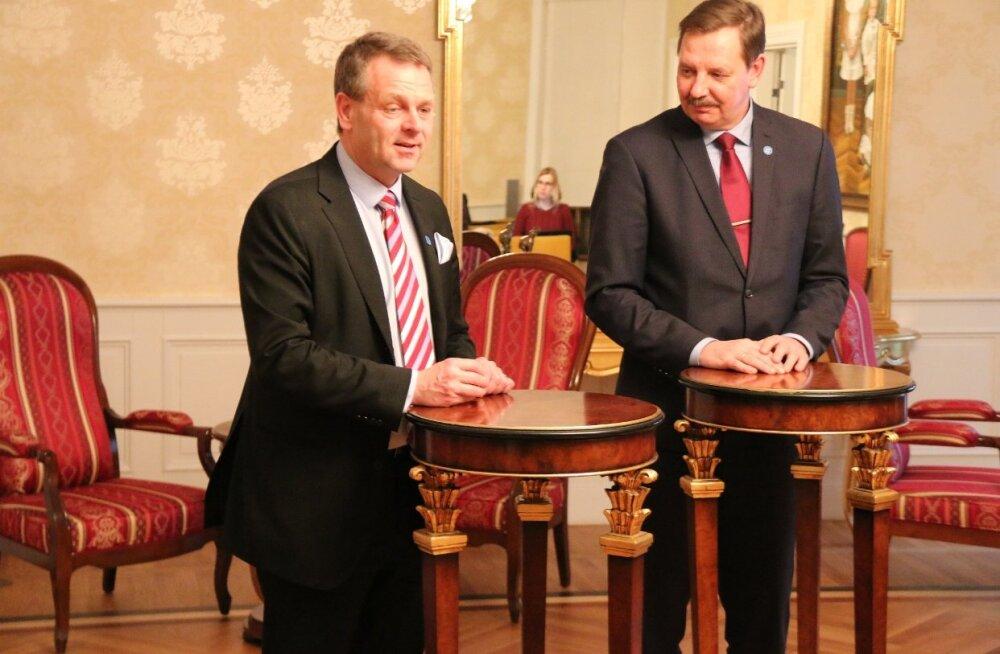 Мэры Таллинна и Хельсинки обсудили перспективы сотрудничества