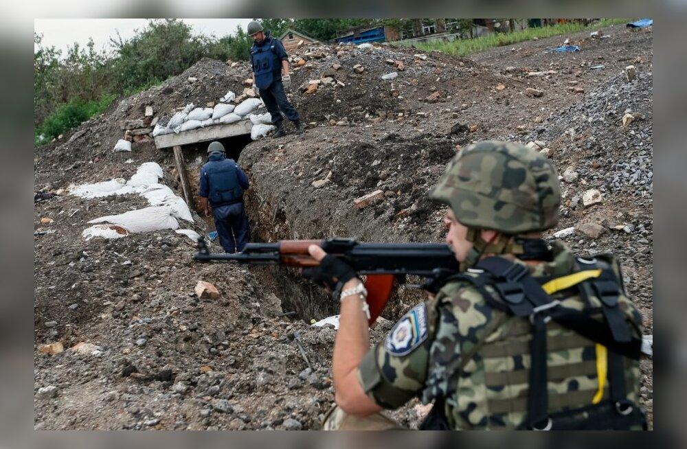 Ukraina relvajõud võtsid oma kontrolli alla Savur-Mogõla asula
