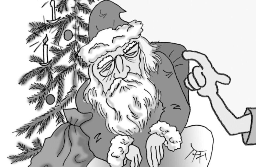 Tühi kingikott ei seisa enam hästi püsti, kui jõuluvana on täis
