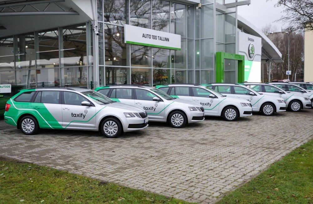 Gaasi jõul edasi: Taxify teatas, et lisab oma autoparki sada loodussõbralikku rendimasinat