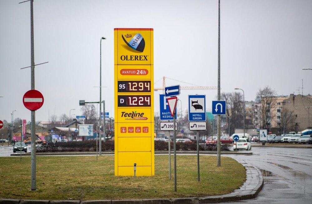 Olerexi kütusehinnad 16. aprilli hommikul
