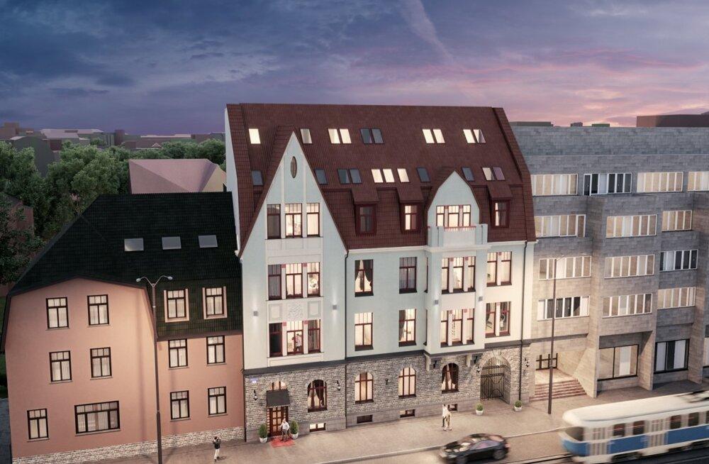 На Нарвском шоссе возведут фешенебельный многоквартирный дом