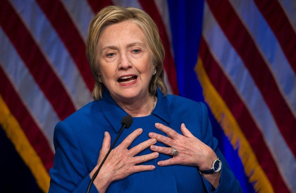 Clinton: pärast valimiskaotust tahtsin ainult kägarasse tõmbuda ja enam mitte majast lahkuda