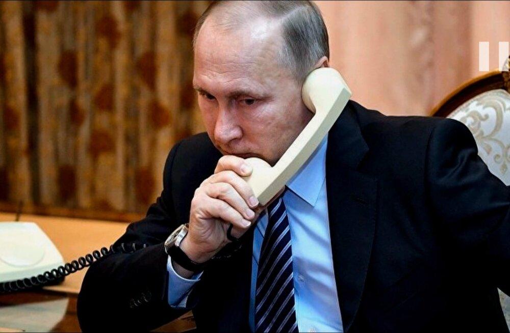"""Ilma Vladimir Putinita pole Venemaad, väidab riigi võimuladvik filmis """"Putini kättemaks""""."""