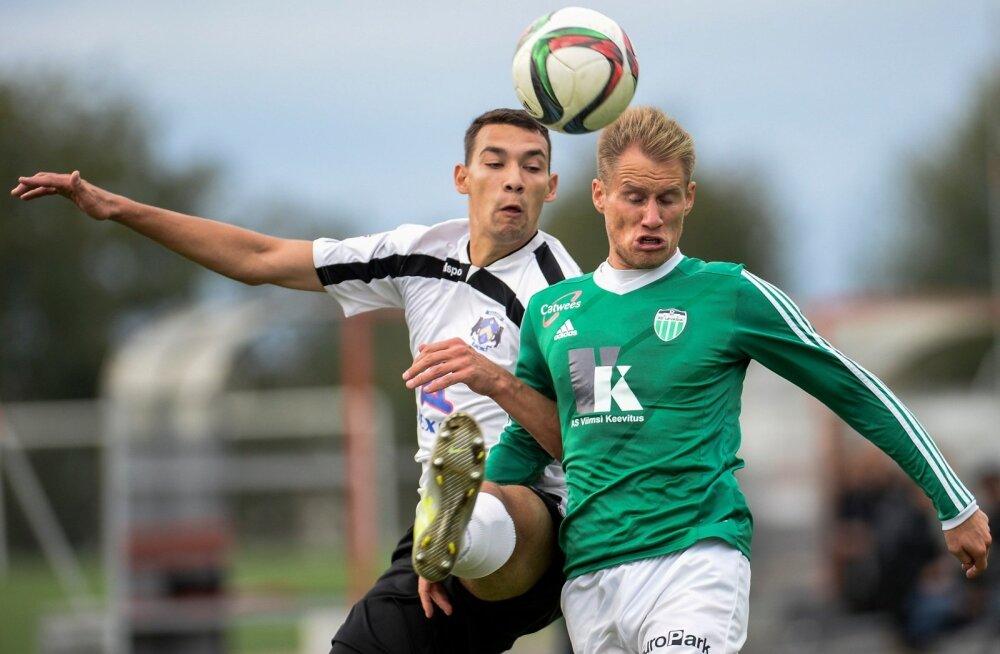 Jalgpall. Sillamae Kalev vs Levadia 19.09.2015