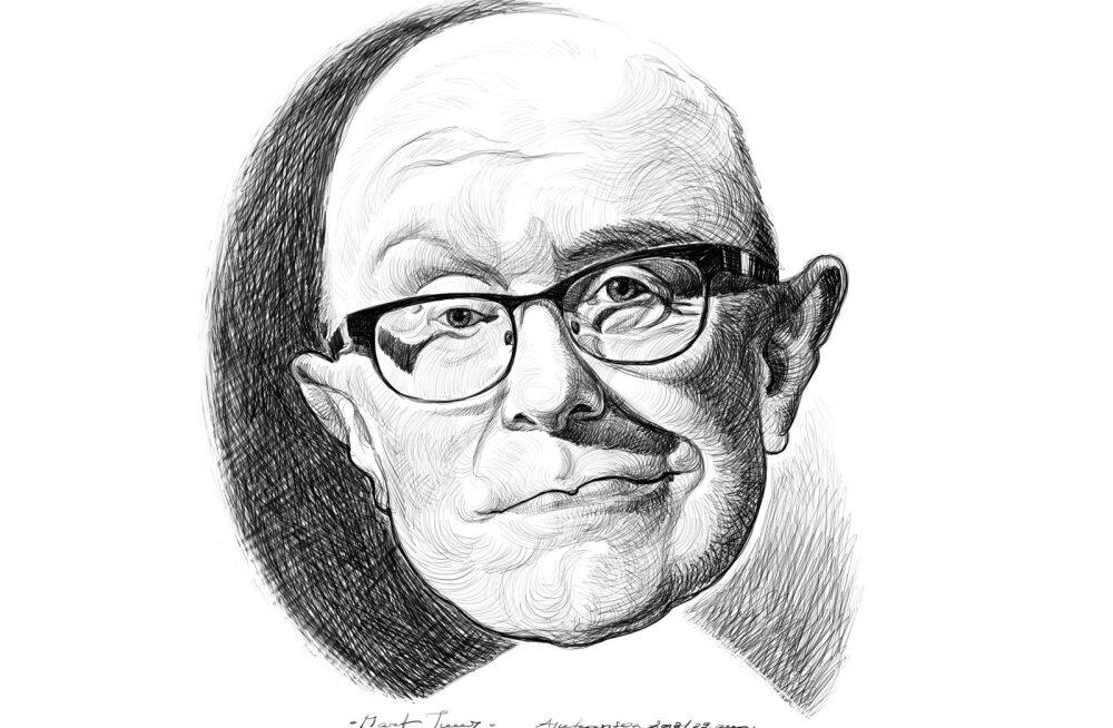 Mart Juur. Joonistas Aivar Juhanson.