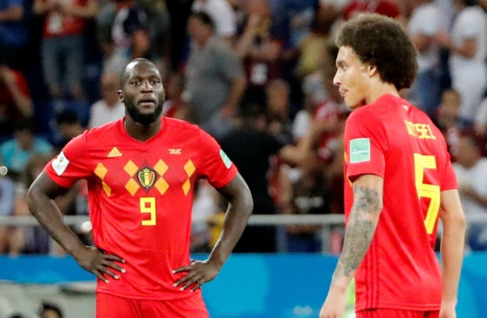 Jalgpall Belgia vs Jaapan