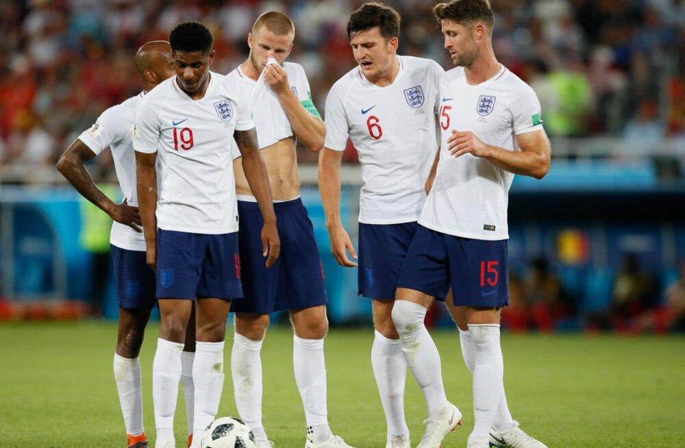 Inglismaa jalgpallikoondist ootab esmalt ees duell Kolumbiaga.