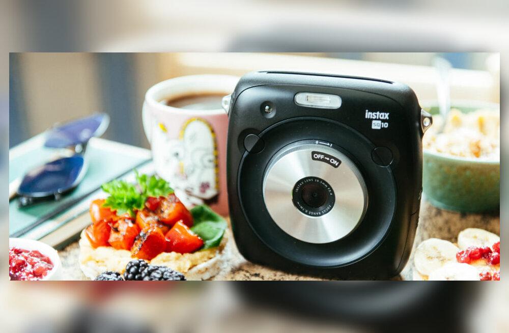 TEST   Fujifilm Instax Square SQ10 kiirpildikaameraga oled seltskonna hing!