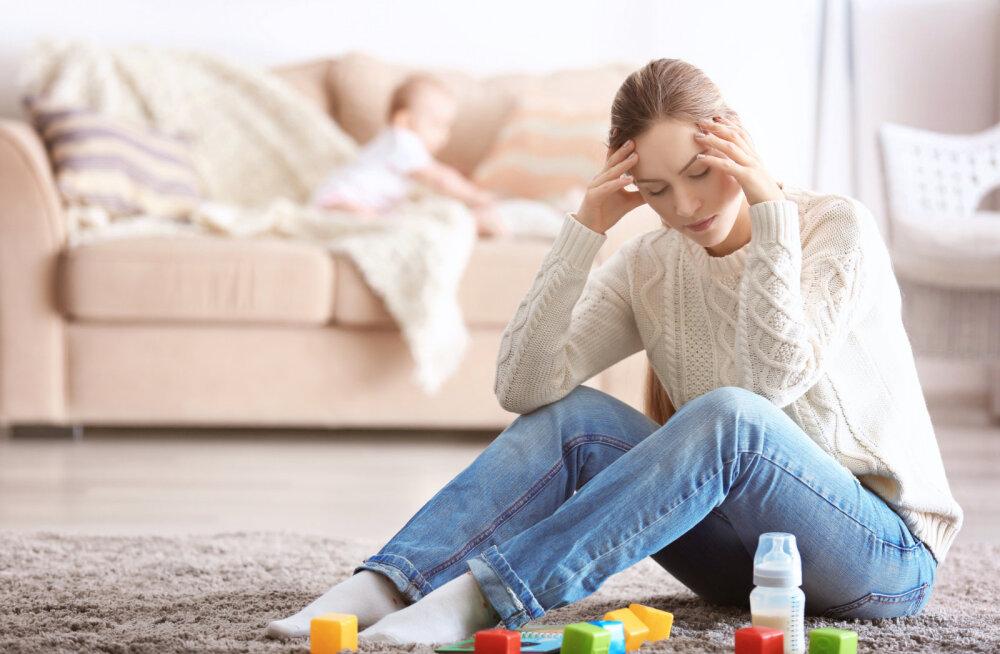 Sünnitusjärgne depressioon: tundsin end emana täielikult läbikukkununa